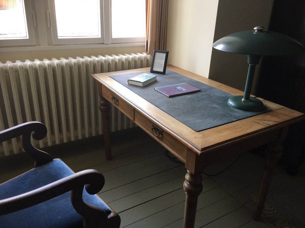 Boenhoeffer's Desk where he was arrested