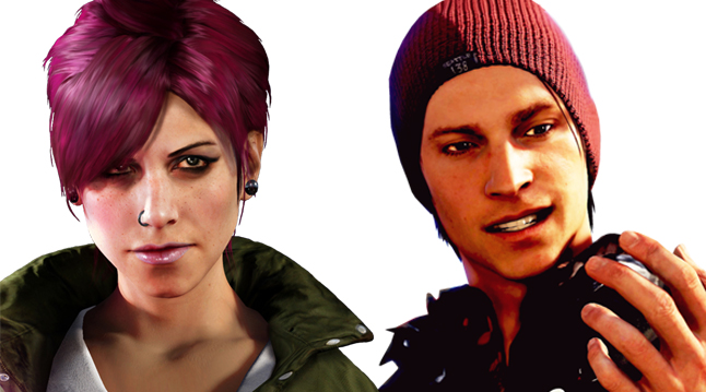 Fetch and Delsin from Infamous: Second Son