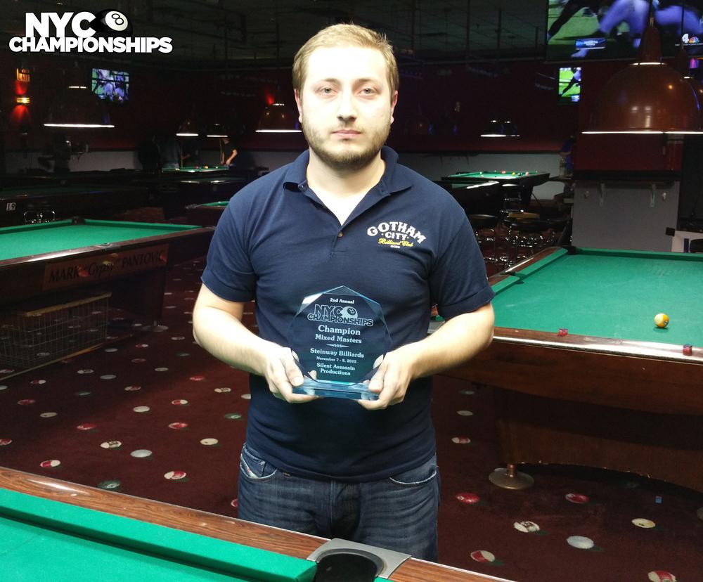 Mixed Masters: Champion Koka Davladze