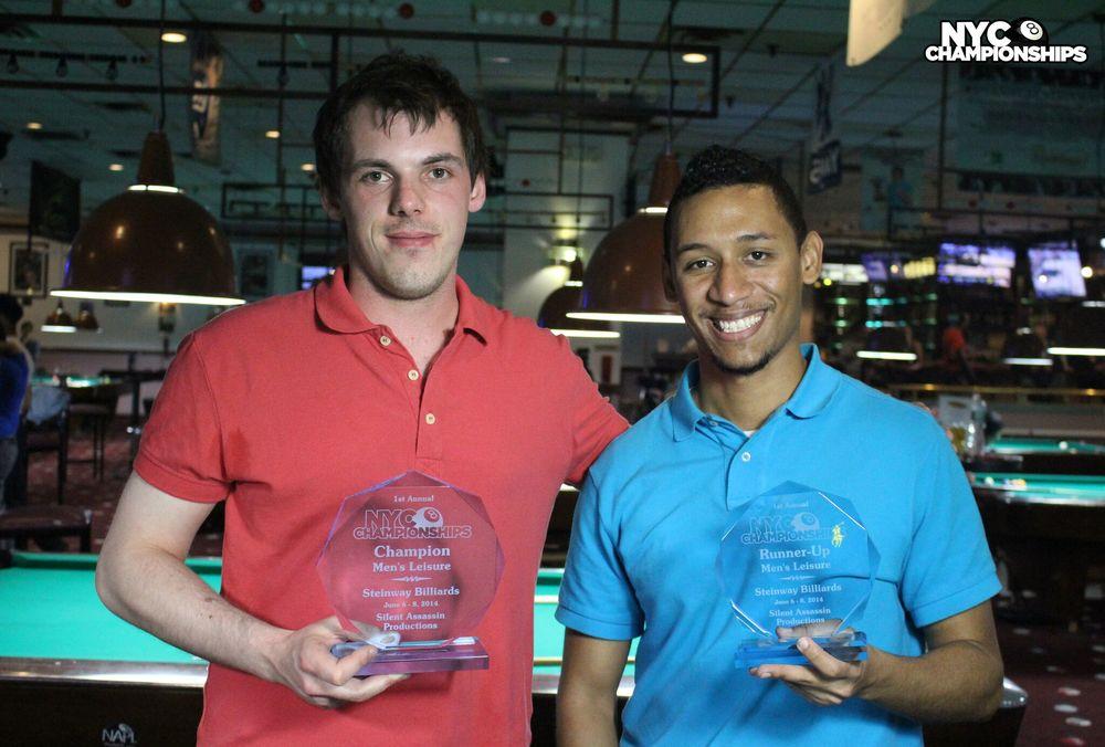 Men's Leisure: Champion John Morrison & Runner Up Greg Matos