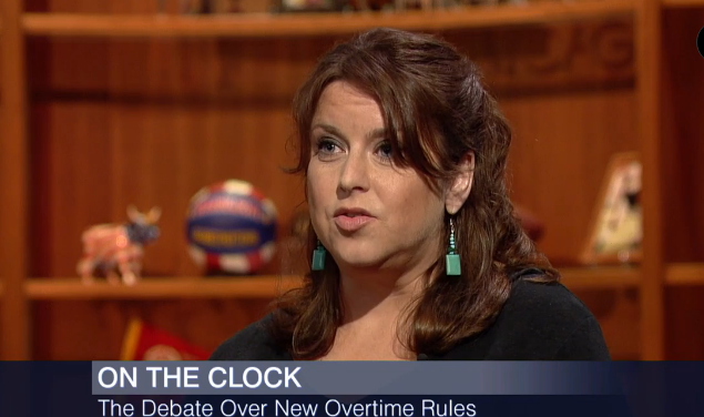 Chicago Jobs with Justice Director Susan Hurley on WTTW's Chicago Tonight!