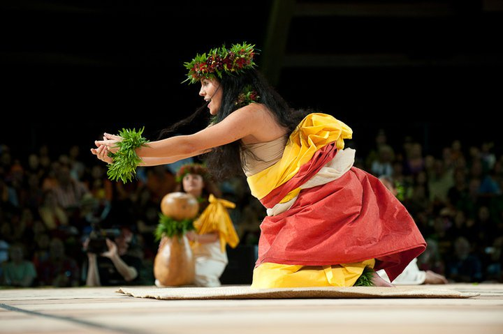 My daughter's performance at the 2010 Merrie Monarch Hula Festival Miss Aloha Hula competition. Photo by Randy Jay Braun.