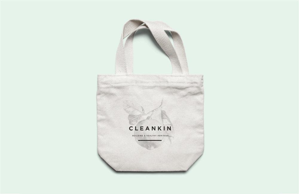 Brand tote - CleanKin