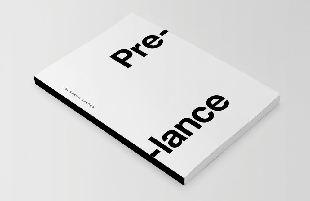 Minimal booklet design