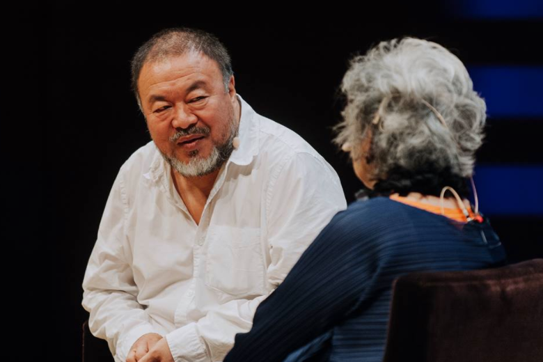 Ai Weiwei speaks with Adrienne Clarkson regarding his Global Citizenship award