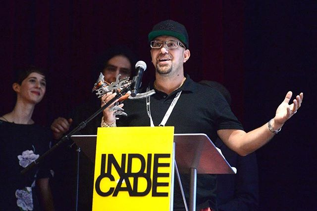 We did it!! @inkstoriesnyc takes the Grand Jury Award at IndieCade for #1979thegame 🏆🏆🏆🎉 #indiecade16 #indiegames #awards