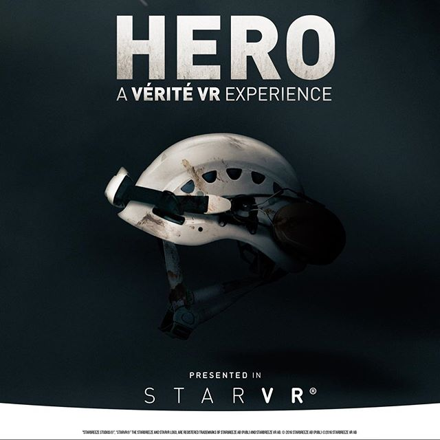 Thrilled to partner with #StarVR on HERO; iNK's new Vérité VR Experience. Stay tuned. • • • #StarVR #HeroVR #iNKStories #IMAX #ComingSoon
