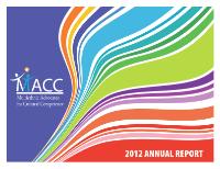 MACC 2012 Annual Report