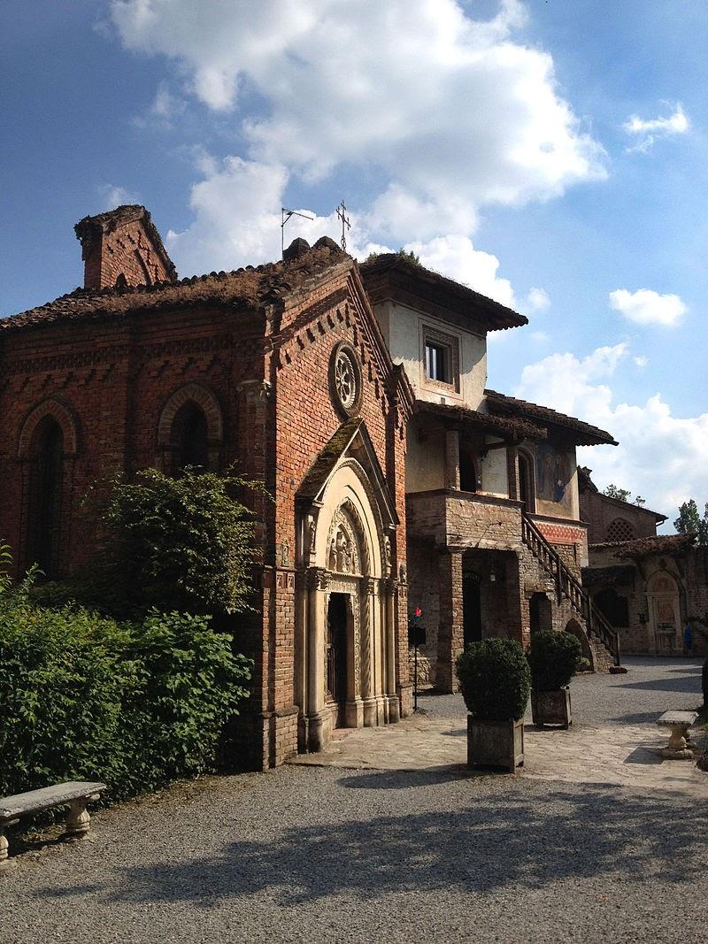 Above — Grazzano, Visconti's family estate