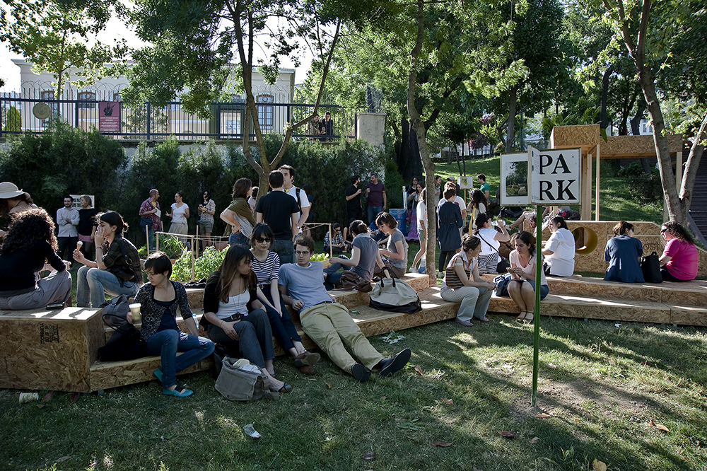 Istanbul, TK with Nils Norman, Ceren Oykut, Sinek Sekiz and the Park Collective