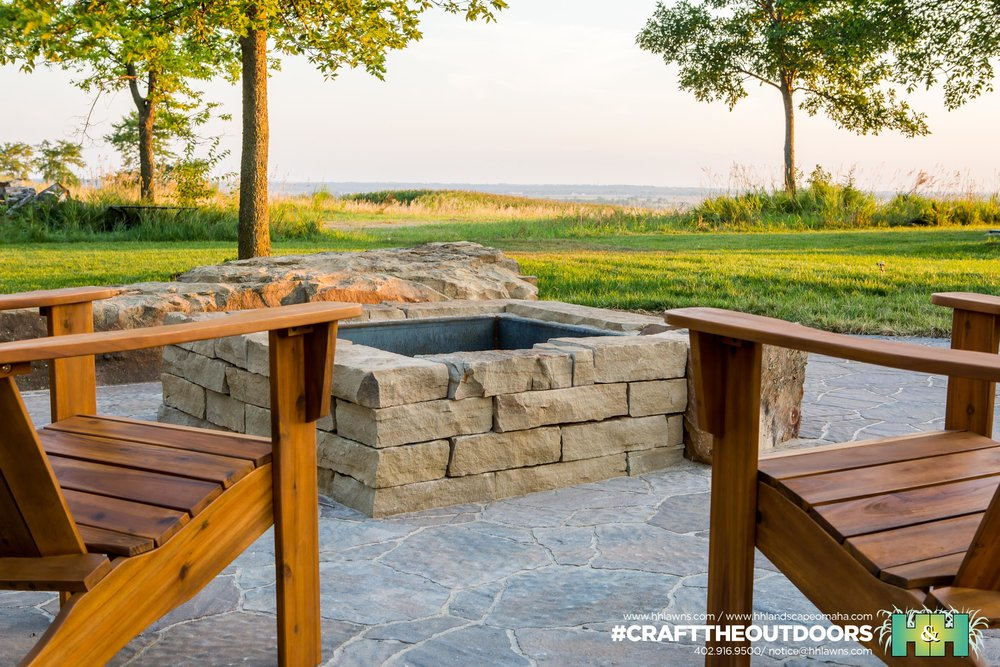 Jason and Ashley Kassmeier Outdoor Patio Landscape Project 2016