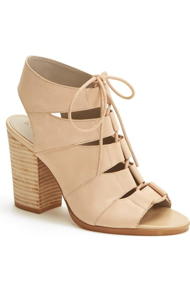 Lace up heels- Nordstrom
