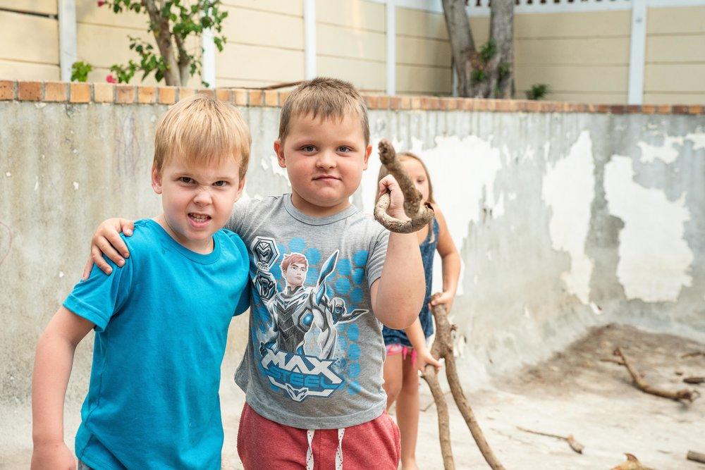 Torsten and James