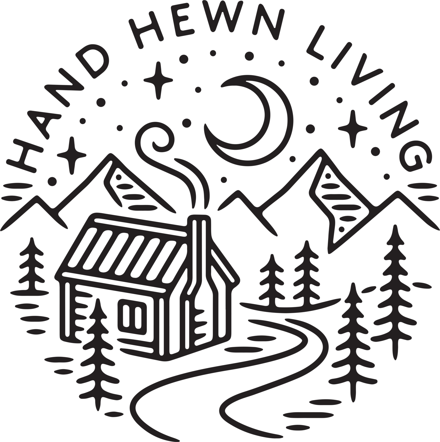 HAND HEWN LIVING