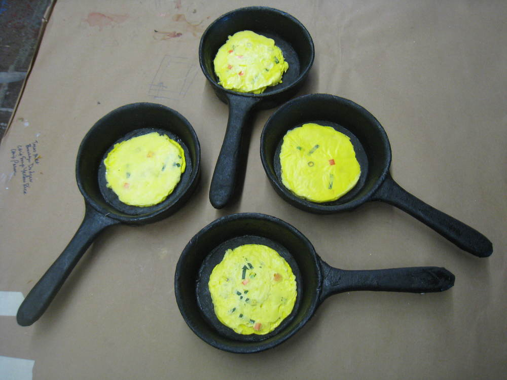 Omlettes and EVA Frying Pans, Something Rotten