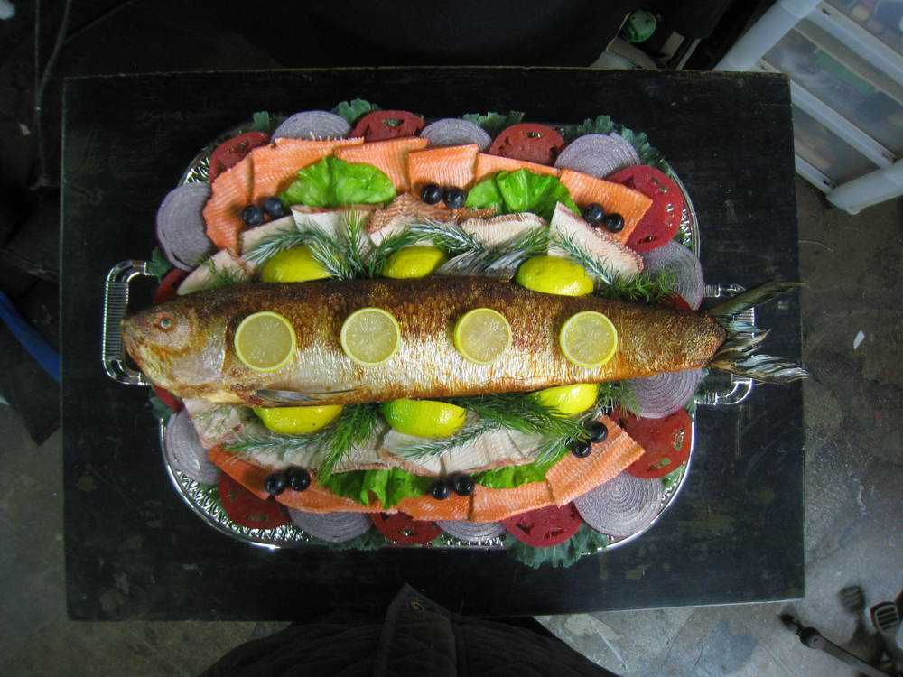 Smoked Trout Platter