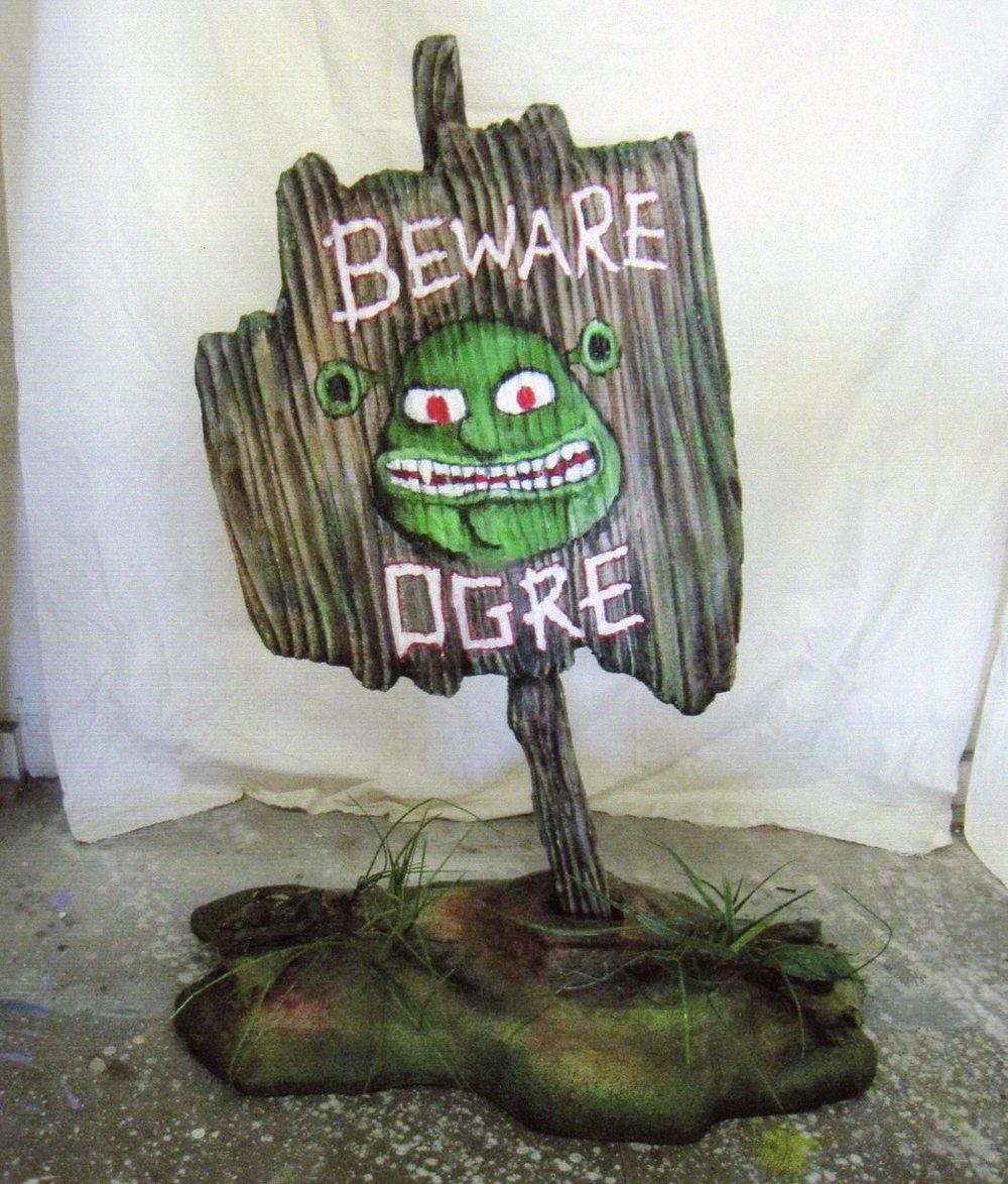 Ogre Sign, SHREK