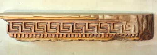 Greek Key Shelf