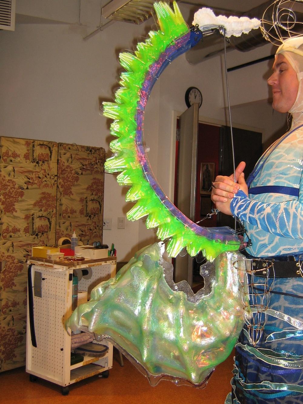 The Little Mermaid Blowfish Saxophone