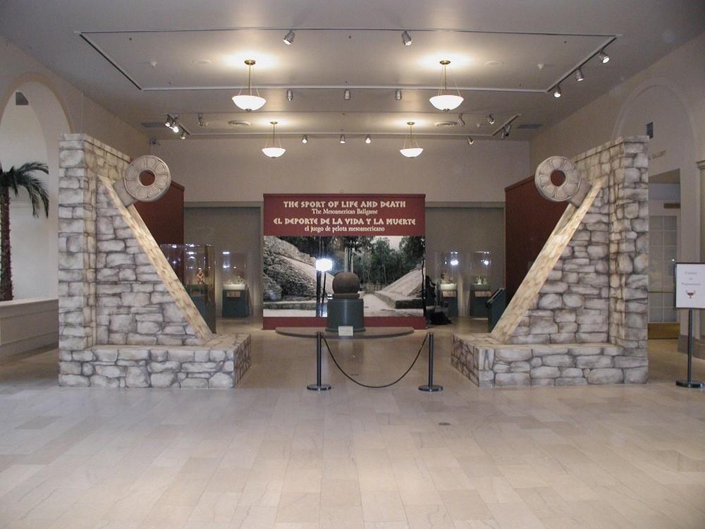 Mesoamerican Ballgame Exhibit:  Newark Museum