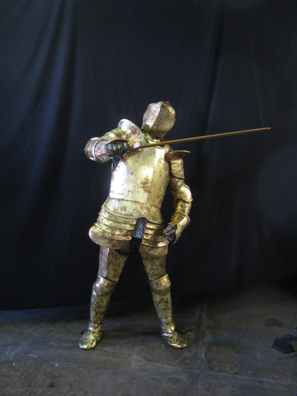 Gold Knight in Action.JPG