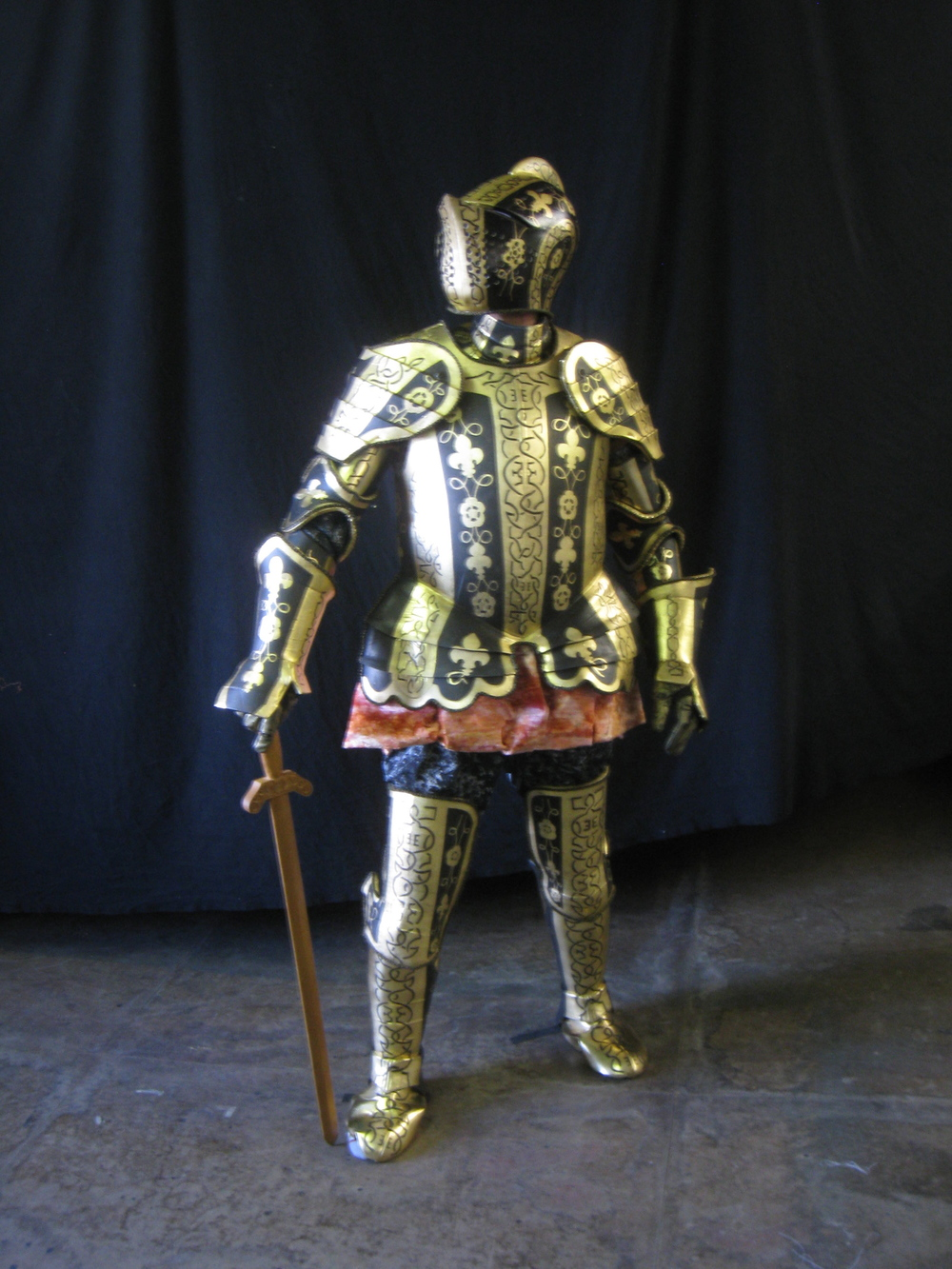 Radio City NY Spectacular Armor .JPG