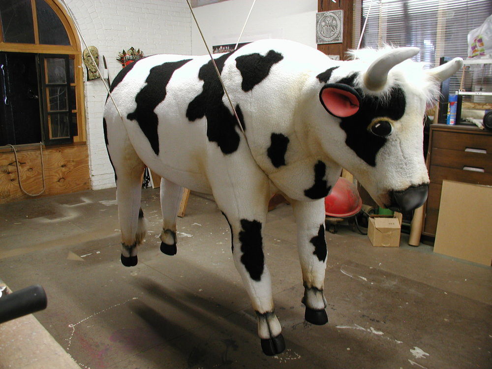 Catapult Cow, Spamalot