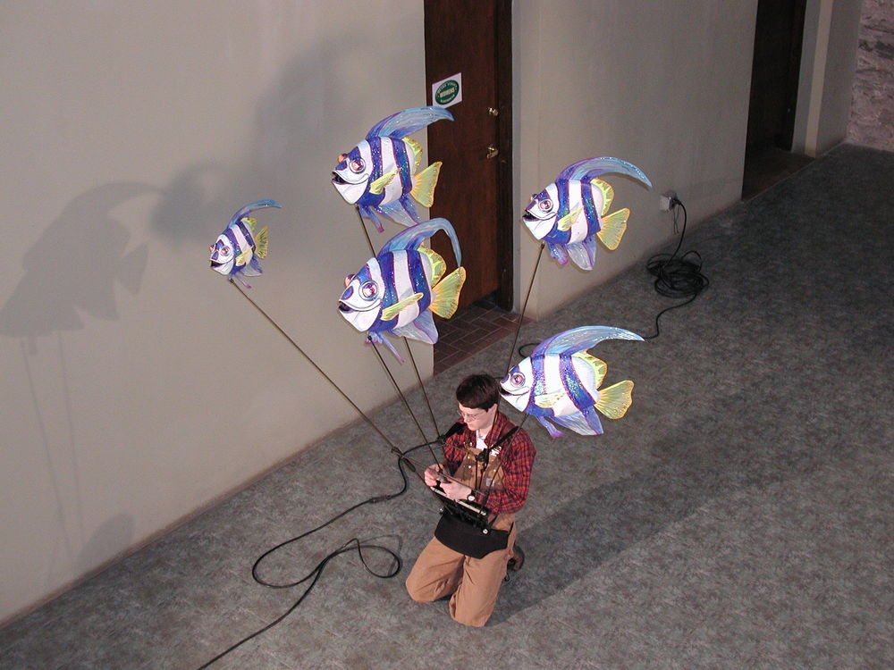 Fish Puppets, The Shoji Tabuchi Show