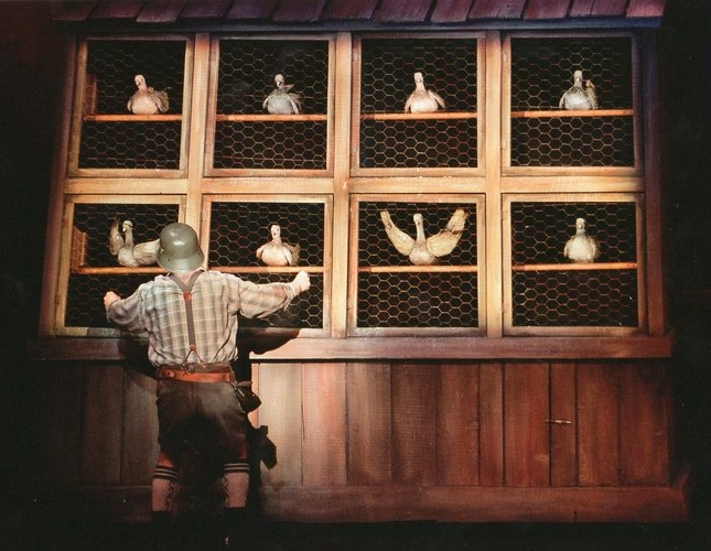 Pigeon Puppets, The Producers