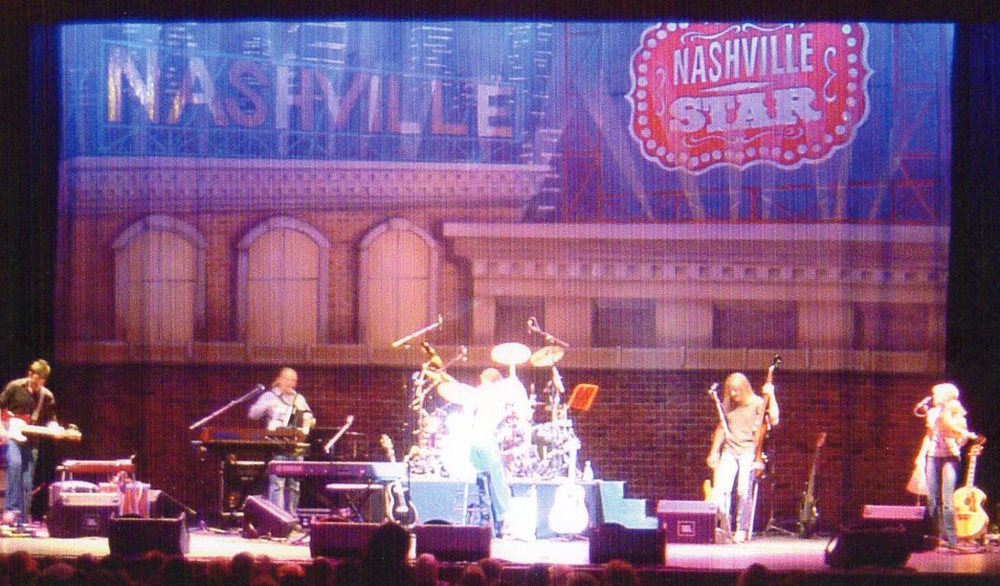 Nashville Star Backdrop