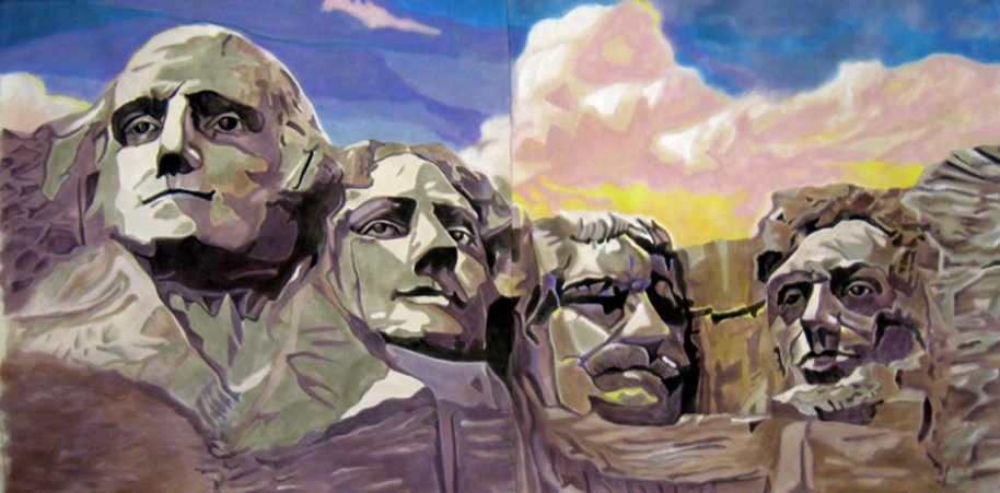 Mt. Rushmore Backdrop, Minsky's