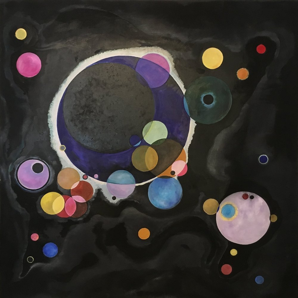 "Kandinsky Copy ""6 Degrees"""