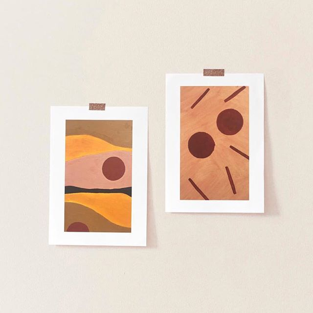 Loving these paintings from @goodrest_studios // The natural orange tones just get me 🧡// they are available to buy now! Just send her over a message and some love! // I just love being inspired by what others create // #inspire #studio #paint #collectivelycreate #instagood #photooftheday #girl #tone #colour #painting #natural #lifestyle #photography #talented