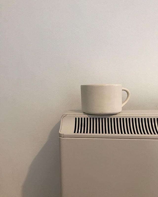 White on White on White // #lifestyle #white #minimal #easy #simple #nomadic #studio #design #collectivelycreate #mug #instagood #home #instahome #graphicdesign #girl #london