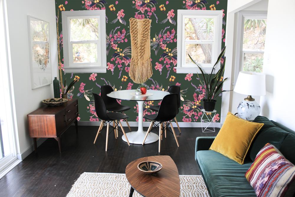 Samantha Santana Wallpaper Floral Loquat