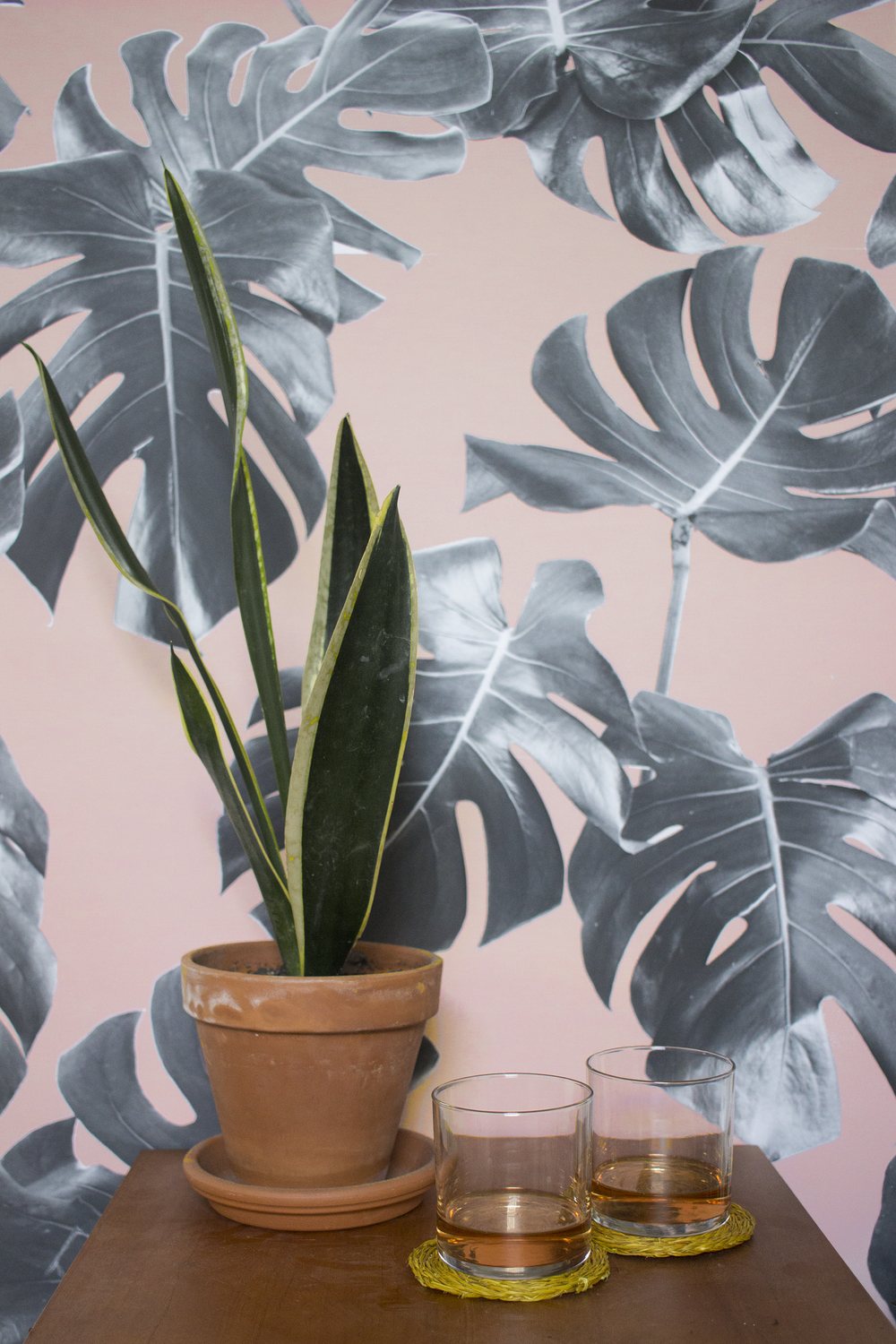 peel & stick WALLPAPER -