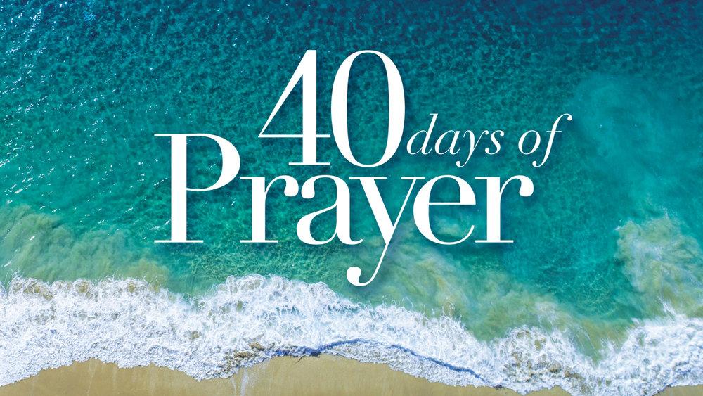 - 40 Days of Prayer 2018
