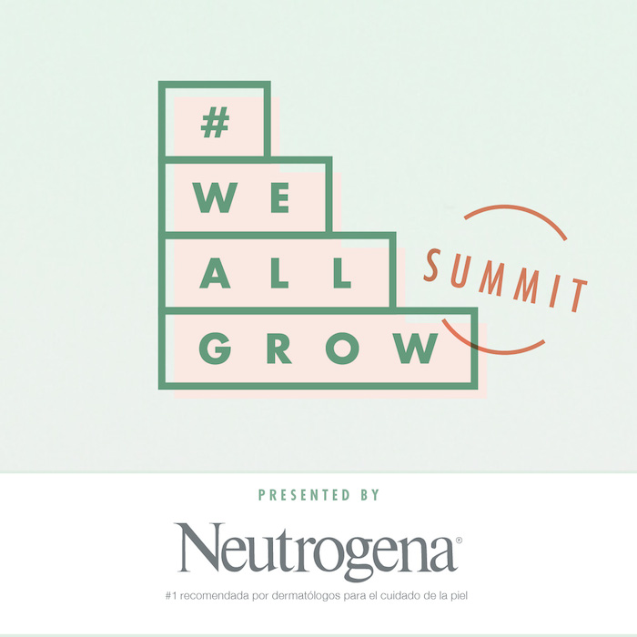 Neutrogena -- #WeAllGrow Summit Title sponsor
