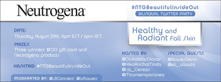 Neutrogena HealthyandRadiant LatinaBloggers