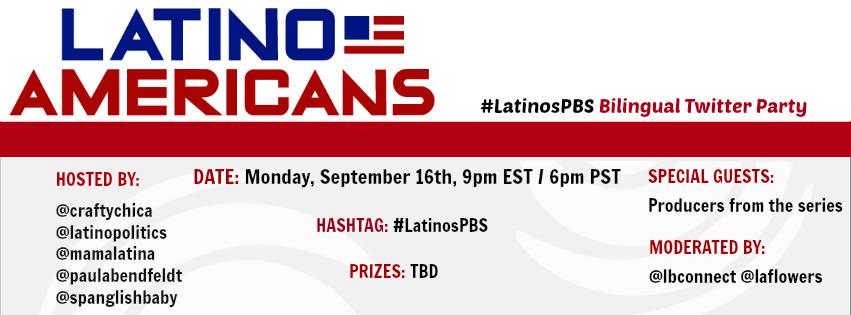 LatinoAmericansPBS Invite