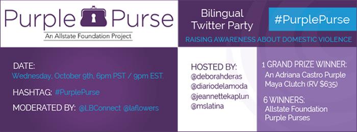 #PurplePurse #LatinaBloggers