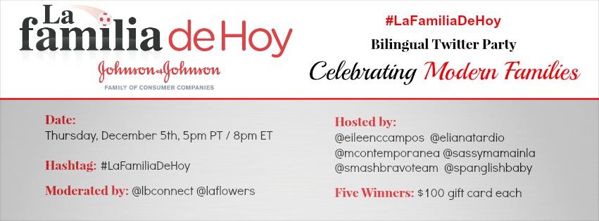 lafamiliadehoy twitter party latinabloggers