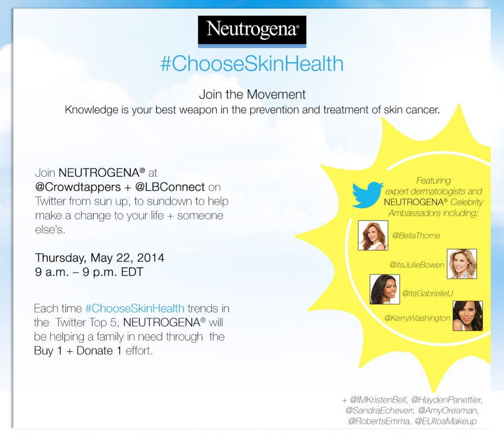 neutrogena sun sup, sundown latinabloggers