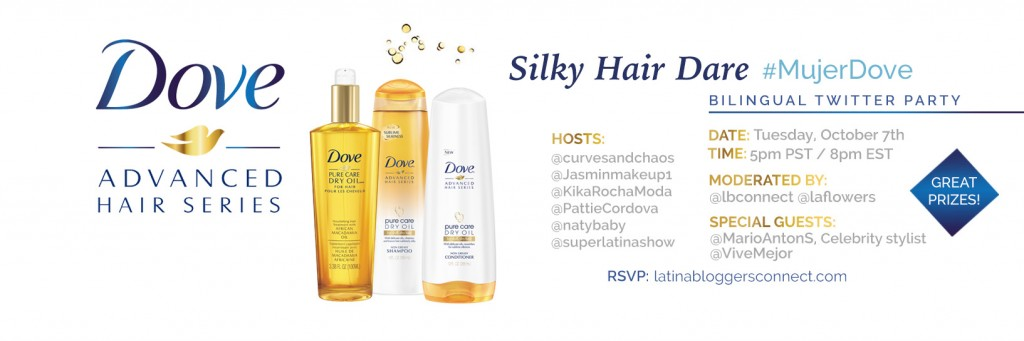 Silky Hair Dare with MujerDove and LatinaBloggers