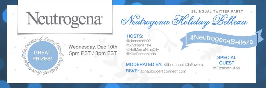 NeutrogenaHolidayBelleza latinabloggers