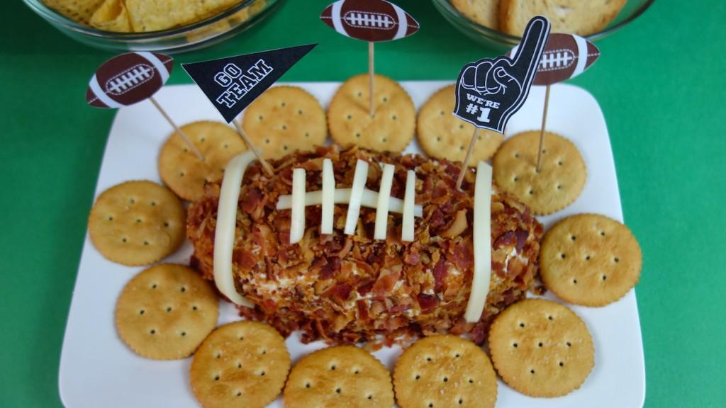 receta de Balon de Queso y Tocino para el Super Bowl