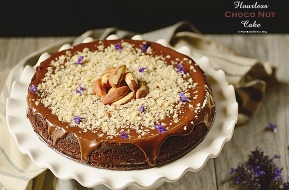 Flourless Choconut Cake - #SoyParaSoy