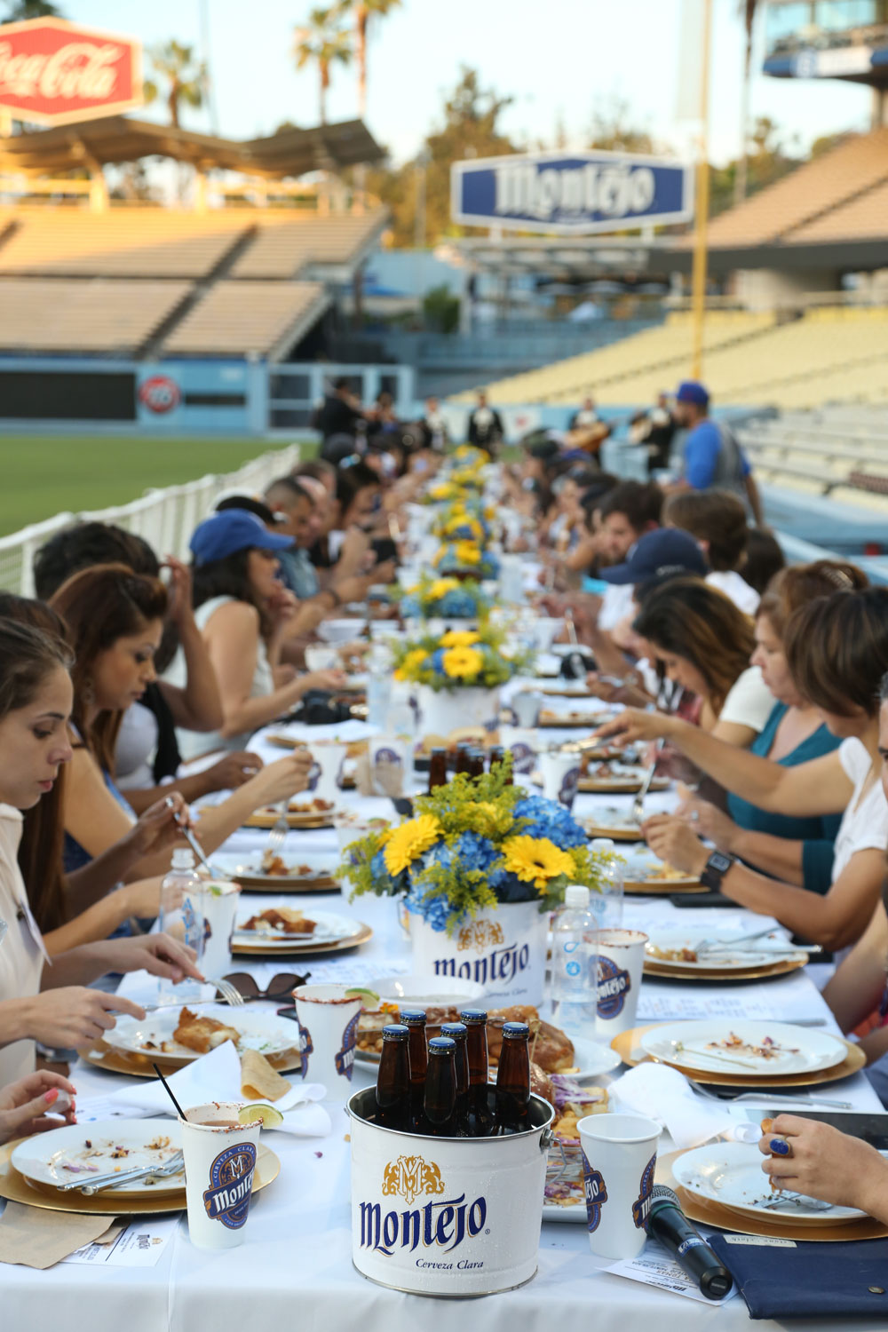 monetjo tailgate event at dodger stadium