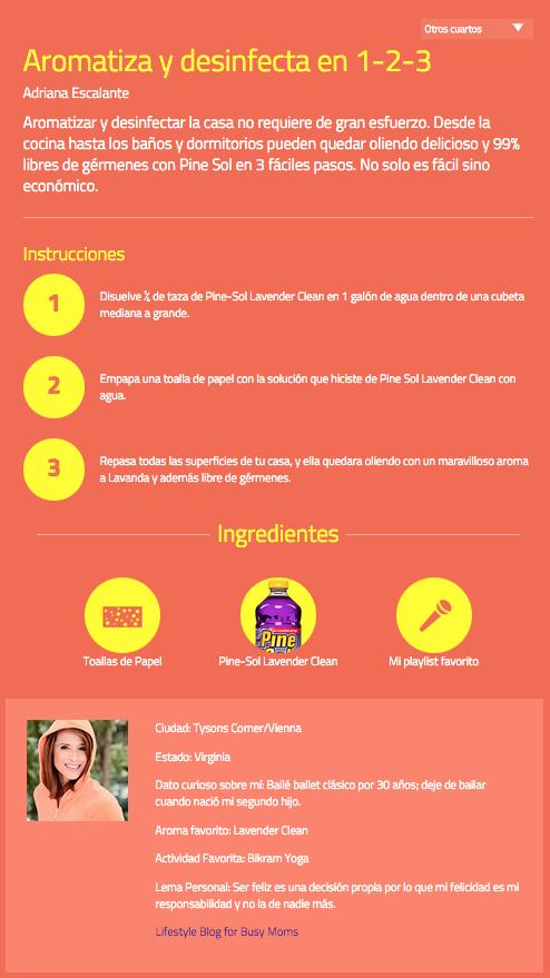#PowerofPineSol Adriana Eacalante