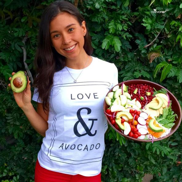 Yovana Mendoza_Avocado Salad_@RawVana
